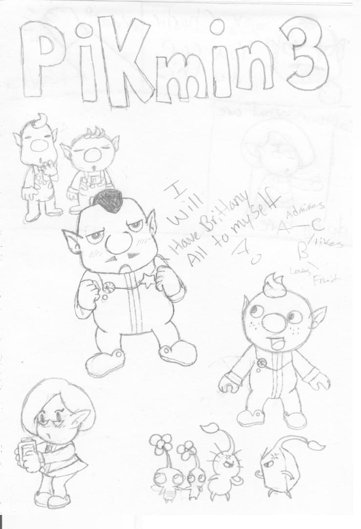 pikmin bulborb coloring pages | Pikmin 3 Comic by Ask-PrincessofKeys on DeviantArt
