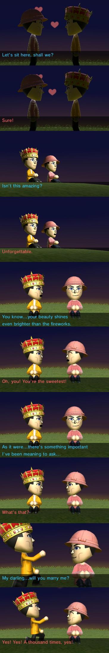 Tomodachi King and Niko by Ask-PrincessofKeys
