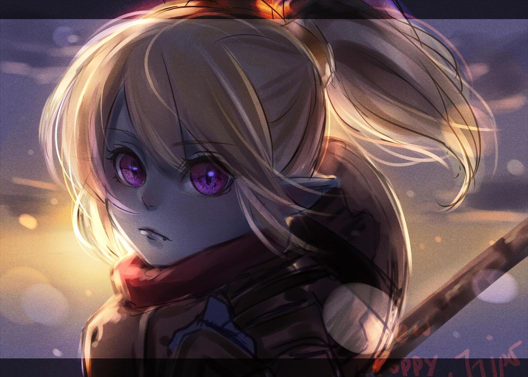 League Of Legends Poppy Wallpaper: Poppy_rework By Shishiilol On DeviantArt