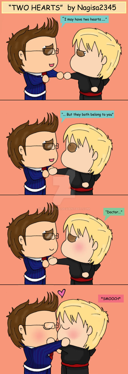 Doctor Who x Master  Two Hearts Comic by nagisa2345