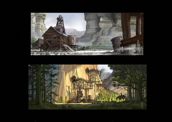 environmental concepts3 by TheBeke