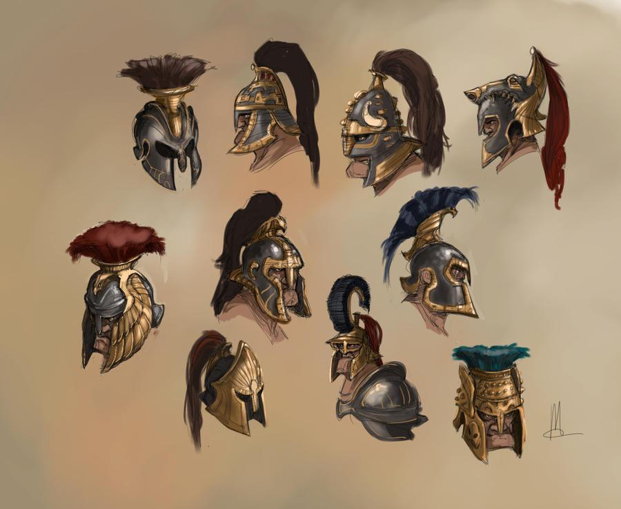 helmets by TheBeke