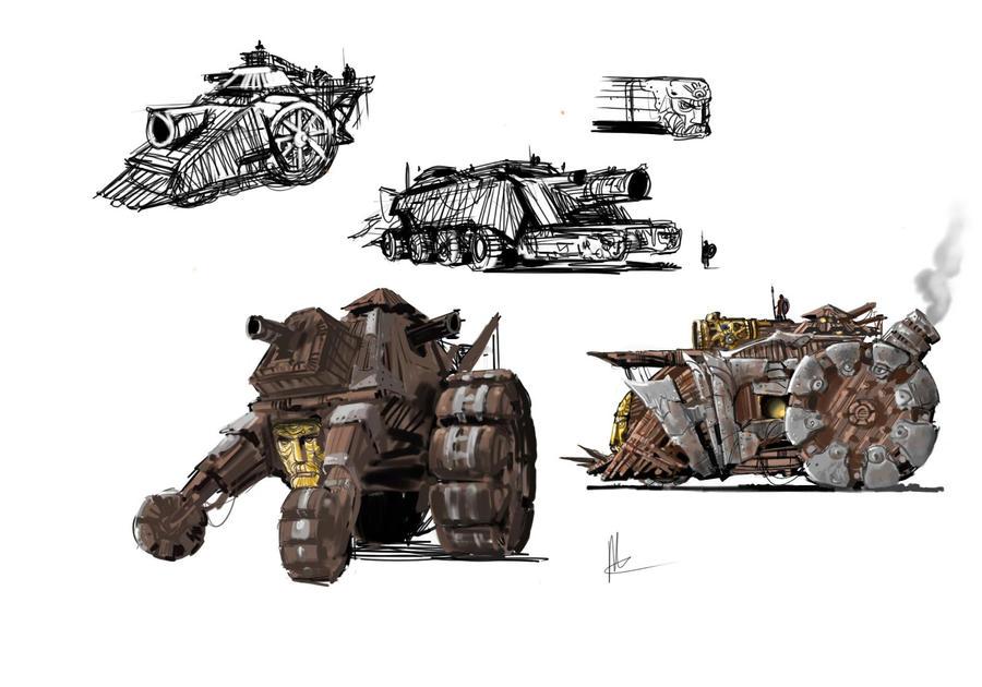 draw war machine