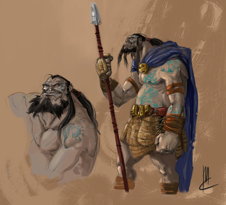 gaelic warrior art
