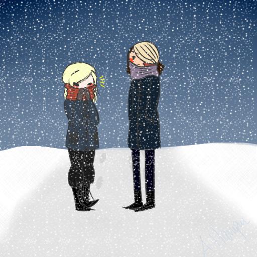 Some Snowy Bois by AngelB0y