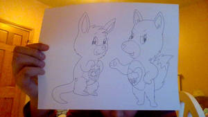 Care Bears Cousins- Shining Star and Wild Heart
