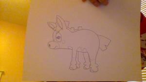 MLE- Cranky Doodle Donkey
