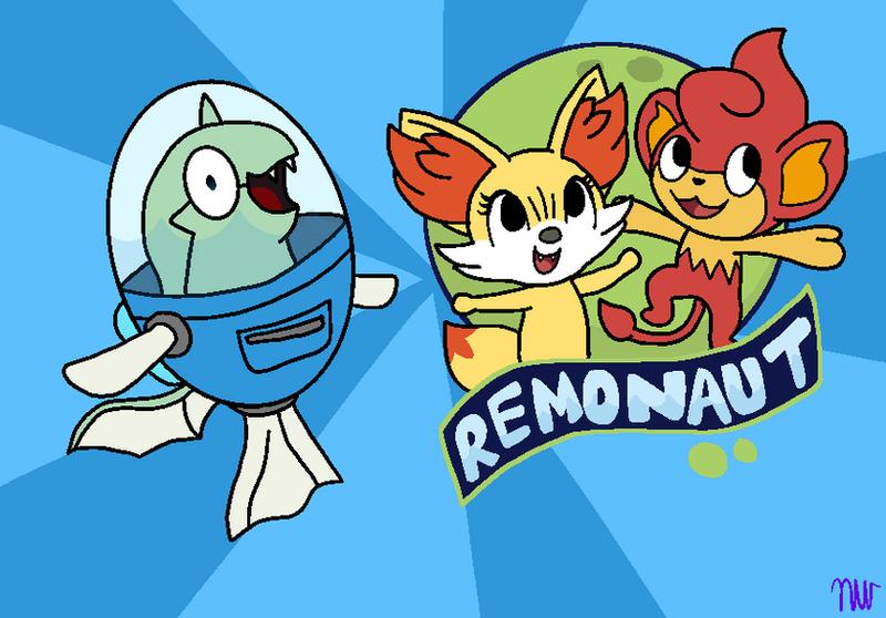 Remonaut (Fishtronaut Parody) by flutteryoshi952