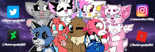 Youtube Banner 2019 by flutteryoshi952