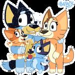 Bluey Fanart