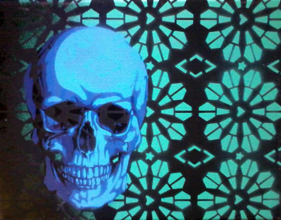Skull Paper by daisy-01