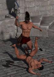 Arena Fight 1 by SolomonBarroa