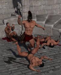 Arena Fight 2 by SolomonBarroa