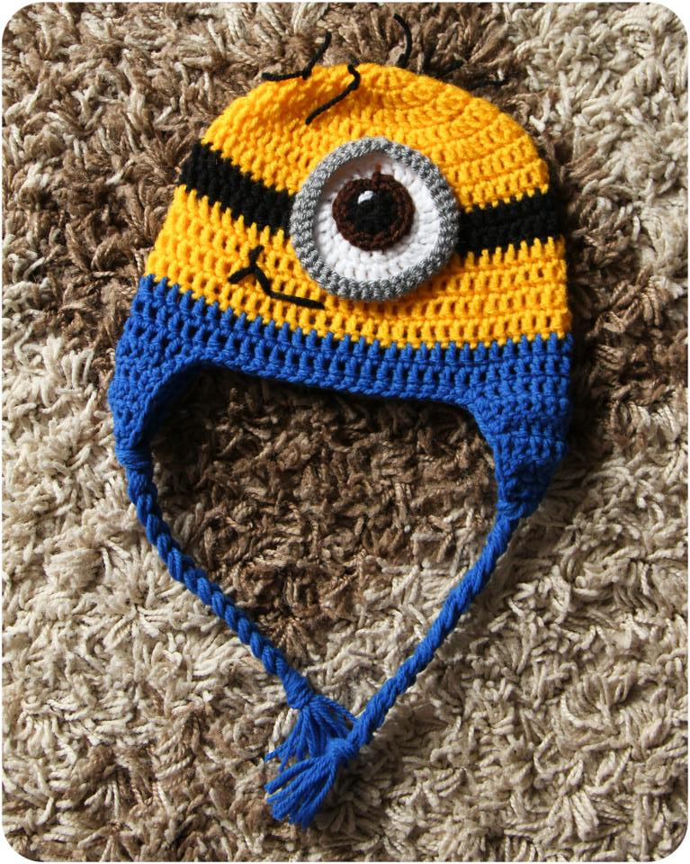 Knitting Pattern Minion Despicable Me Hat