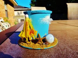 Beachy Top Hat by geekypnai