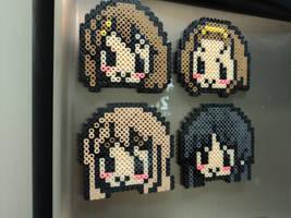 Yui, Ritsu, Tsumugi, Mio by geekypnai