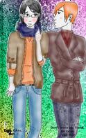 Frank and Lee by geekypnai