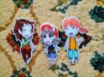 Genderbender: Ash, Brock, Misty by geekypnai