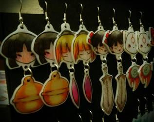 Okamiden Earrings by geekypnai