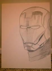 WIP Iron Man by geekypnai