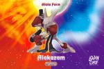Alola Alakazam  fighting type by Logan Cure