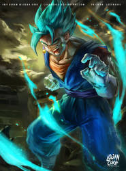 Vegetto ssgss (super saiyan blue)