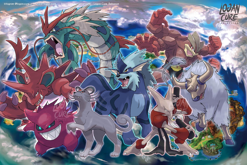 Alola form pokemon by logancure on DeviantArt