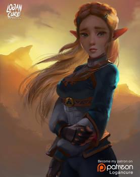 BoTW - Zelda
