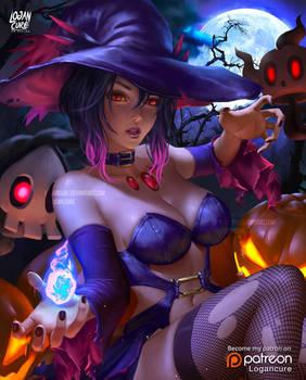 MIsmagius Gijinka Halloween 2017