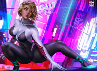Spider Gwen by logancure