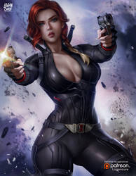 Black Widow by logancure