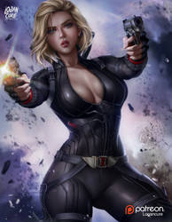 Black Widow Alt D by logancure