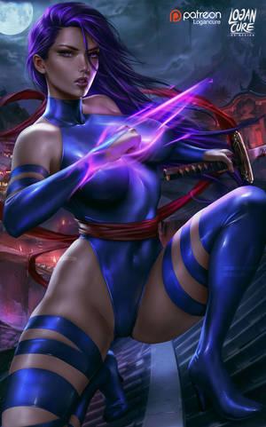 Psylocke by logancure