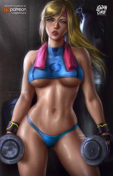 Sporty Samus