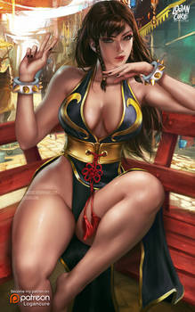 Chun Li battle custome