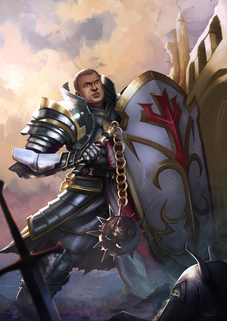 Crusader ~ Diablo 3 Fan Art by Ripsta22