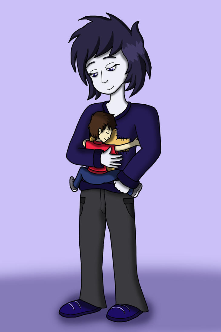 Request: Ella's Hug by Dredgone