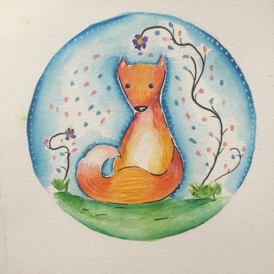 It's a Fox by FoxTail115