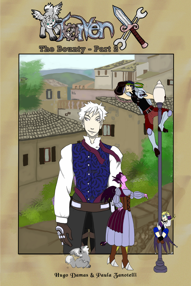 Torven X- Chapter 3 Cover