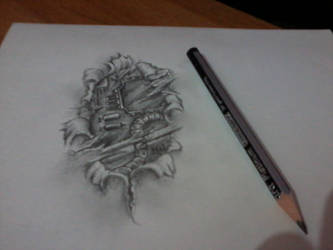 tattoo drawings bye me by Sagar555