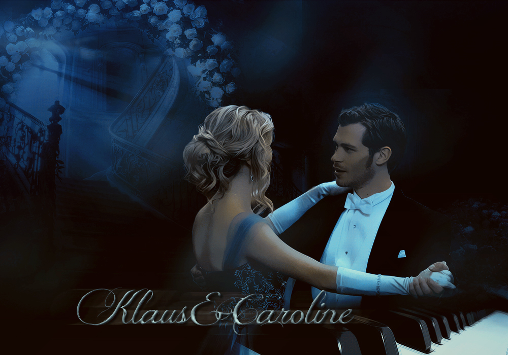 Klaus and Caroline by ...