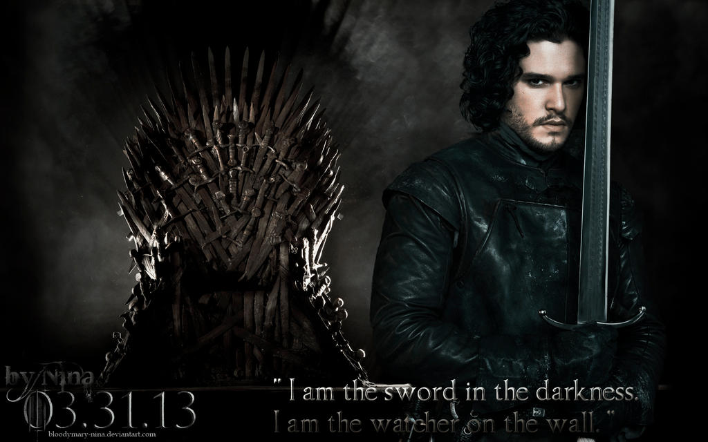 Jon Snow by BloodyMary... Quotes From The Vow