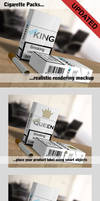 Cigarette Packs Mockup by TeoNikif