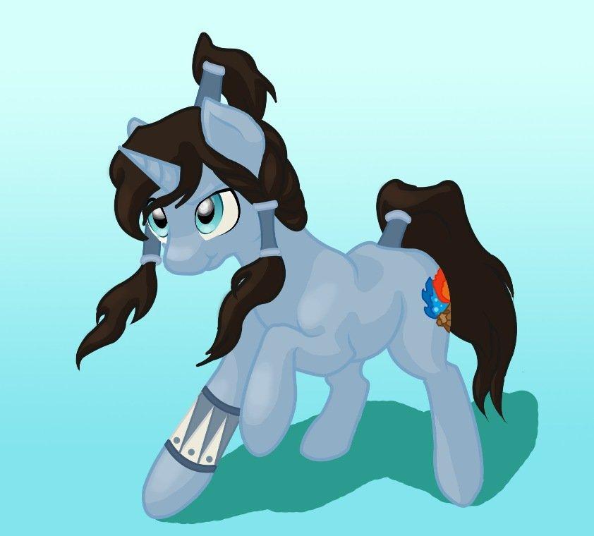 Pony-Korra by Hobra-Hobra