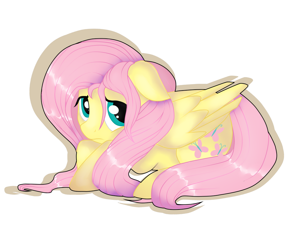 fluttershy__by_sofilut-d8lh7qh.png