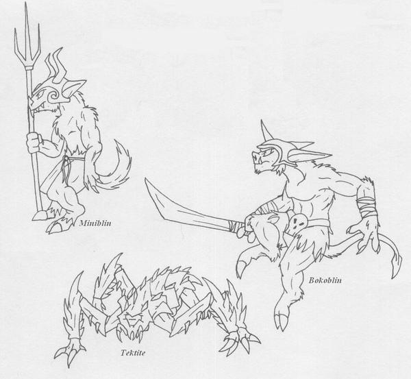 Zelda Enemies 2 by Scatha-the-Worm