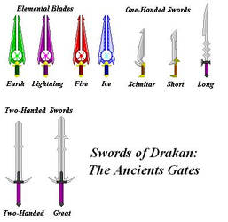 Swords of Drakan-in Paint by Scatha-the-Worm