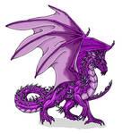 Amethyst Dragon design