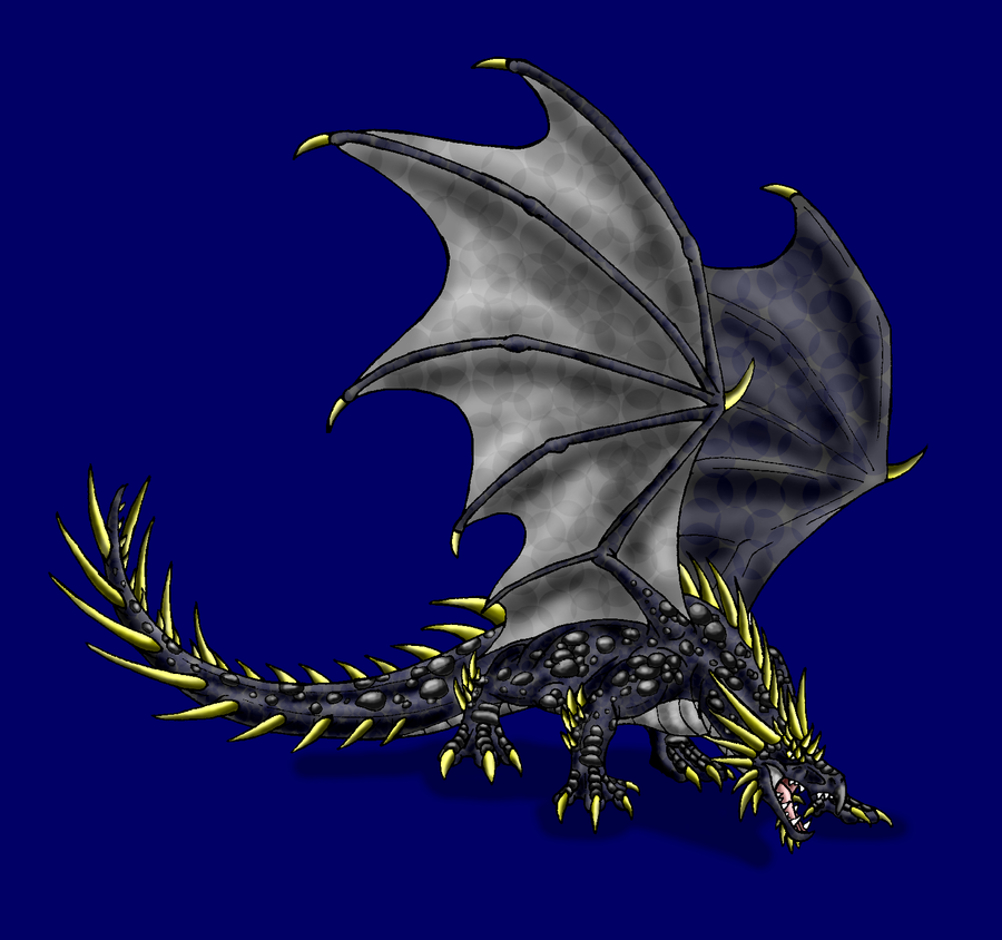 Hungarian Horntail by Scatha-the-Worm on DeviantArt