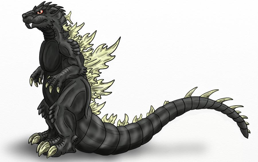 Godzilla by Scatha-the-Worm